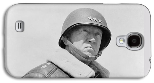 History Paintings Galaxy S4 Cases - General George S. Patton Galaxy S4 Case by War Is Hell Store