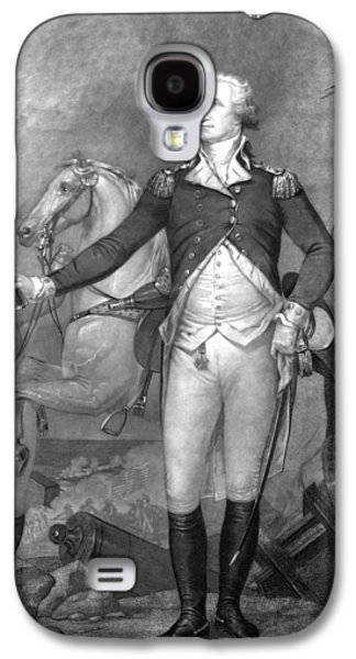 General George Washington At Trenton Galaxy S4 Case by War Is Hell Store