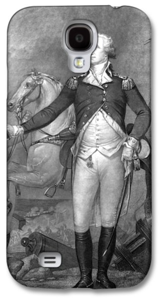 George Washington Galaxy S4 Cases - General George Washington at Trenton Galaxy S4 Case by War Is Hell Store