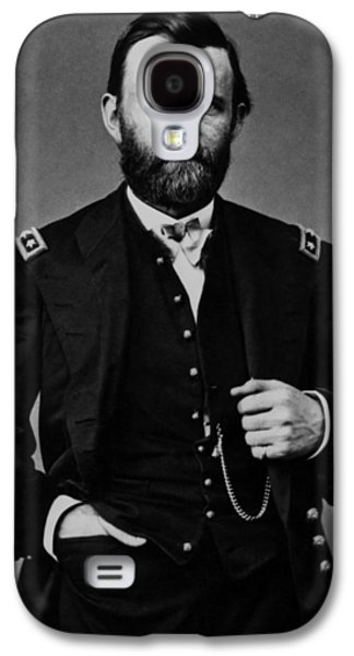 Civil War Galaxy S4 Cases - General Grant During The Civil War Galaxy S4 Case by War Is Hell Store