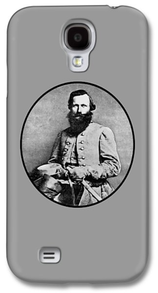 Army Mixed Media Galaxy S4 Cases - General JEB Stuart Galaxy S4 Case by War Is Hell Store