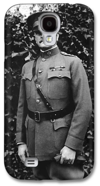 Army Digital Art Galaxy S4 Cases - General John J. Pershing Galaxy S4 Case by War Is Hell Store
