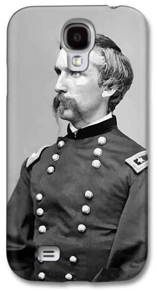 Army Digital Art Galaxy S4 Cases - General Joshua Lawrence Chamberlain Galaxy S4 Case by War Is Hell Store