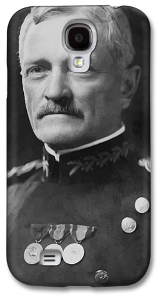 West Digital Art Galaxy S4 Cases - General Pershing Galaxy S4 Case by War Is Hell Store