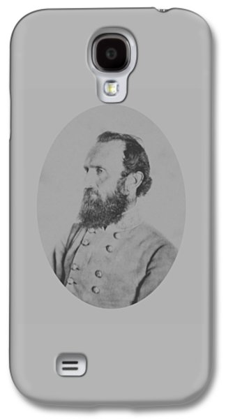 Rebel Galaxy S4 Cases - General Thomas Stonewall Jackson Galaxy S4 Case by War Is Hell Store