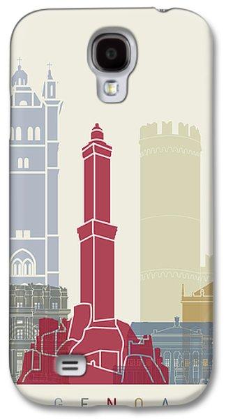 Genoa Skyline Poster Galaxy S4 Case by Pablo Romero