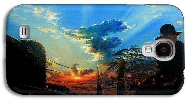 Gentle Days Of Simple Ways Galaxy S4 Case by Hanne Lore Koehler