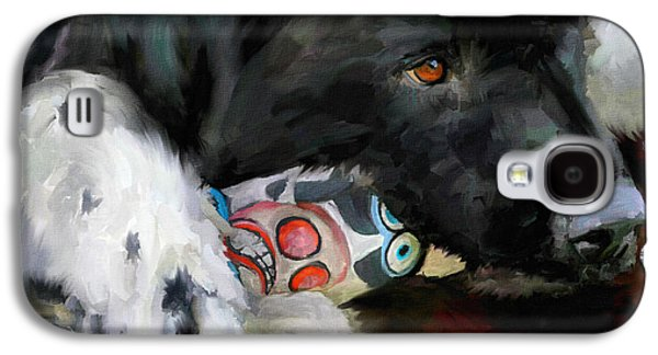Toy Dog Galaxy S4 Cases - Gentle Soul Galaxy S4 Case by Jai Johnson