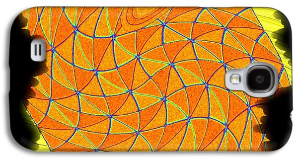 """""""geometric Art"""" Galaxy S4 Cases - Geometric Abstract 1 Galaxy S4 Case by Will Borden"""