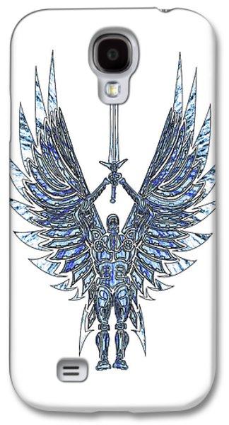 Geometric Guardian Galaxy S4 Case by Michael Lee