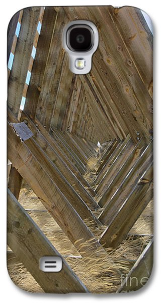 Western Reliefs Galaxy S4 Cases - Geometry in Wood Galaxy S4 Case by Nena Trapp