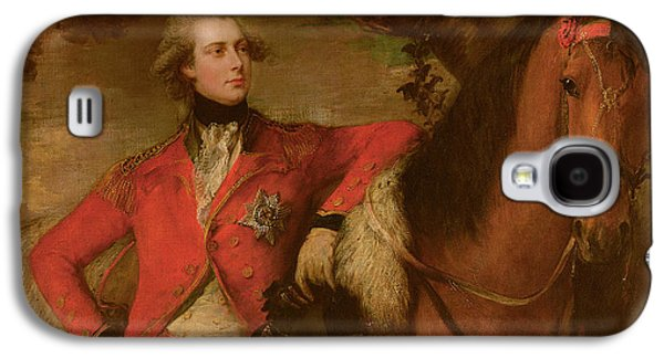 Chestnut Horse Galaxy S4 Cases - George IV as Prince of Wales Galaxy S4 Case by Thomas Gainsborough
