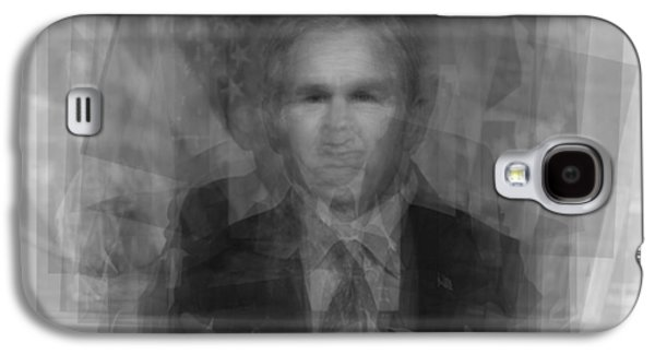 George W. Bush Galaxy S4 Case by Steve Socha