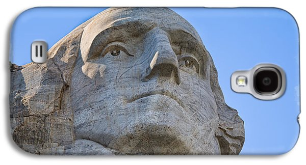Landmarks Photographs Galaxy S4 Cases - George Washington 2 Galaxy S4 Case by John Bailey