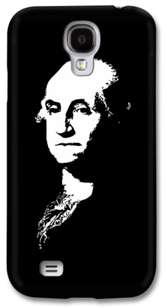 George Washington Galaxy S4 Cases - George Washington Black and White Galaxy S4 Case by War Is Hell Store