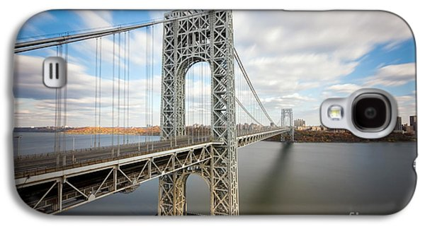 George Washington Bridge Galaxy S4 Case by Greg Gard