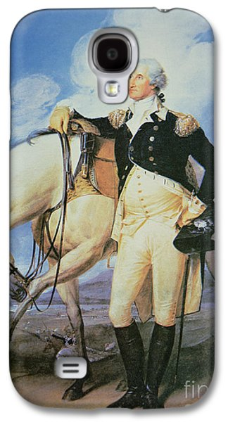 Politician Paintings Galaxy S4 Cases - George Washington Galaxy S4 Case by John Trumbull