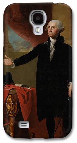Warishellstore Paintings Galaxy S4 Cases - George Washington Lansdowne Portrait Galaxy S4 Case by War Is Hell Store
