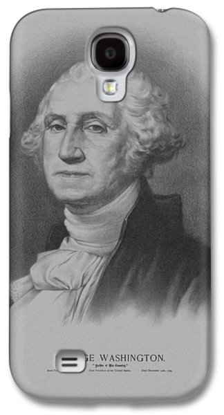 Army Mixed Media Galaxy S4 Cases - George Washington Galaxy S4 Case by War Is Hell Store