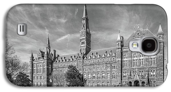 Collegiate Galaxy S4 Cases - Georgetown University Healy Hall Galaxy S4 Case by University Icons