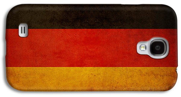 Deutschland Galaxy S4 Cases - German Flag Galaxy S4 Case by Ryan Wyckoff