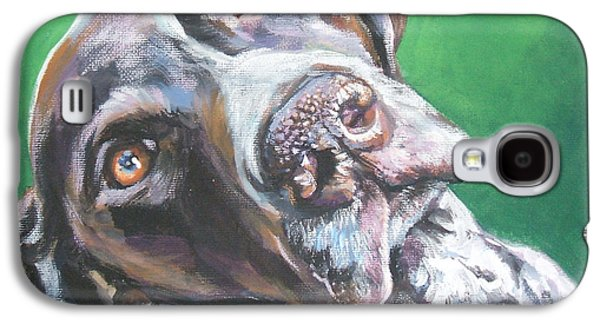 German Shorthaired Pointer Galaxy S4 Case by Lee Ann Shepard