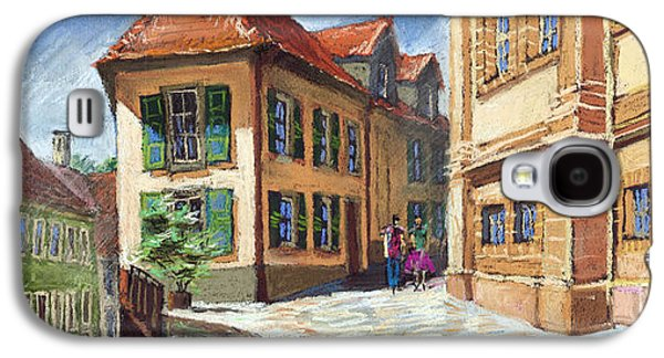 Architecture Pastels Galaxy S4 Cases - Germany Baden-Baden 04 Galaxy S4 Case by Yuriy  Shevchuk