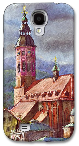 Architecture Pastels Galaxy S4 Cases - Germany Baden-Baden 05 Galaxy S4 Case by Yuriy  Shevchuk