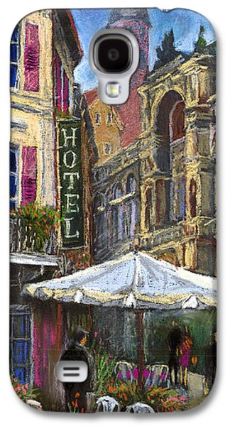 Architecture Pastels Galaxy S4 Cases - Germany Baden-Baden 07 Galaxy S4 Case by Yuriy  Shevchuk
