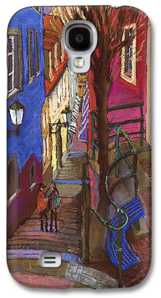 Architecture Pastels Galaxy S4 Cases - Germany Baden-Baden 08 Galaxy S4 Case by Yuriy  Shevchuk
