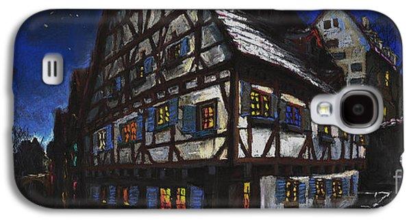 Architecture Pastels Galaxy S4 Cases - Germany Ulm Fischer Viertel Schwor-Haus Galaxy S4 Case by Yuriy  Shevchuk