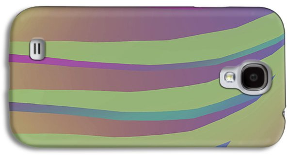 Digital Tapestries - Textiles Galaxy S4 Cases - Get a Grip Galaxy S4 Case by Suzi Freeman