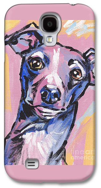 Puppies Galaxy S4 Cases - Gettin Iggy Wit It Galaxy S4 Case by Lea