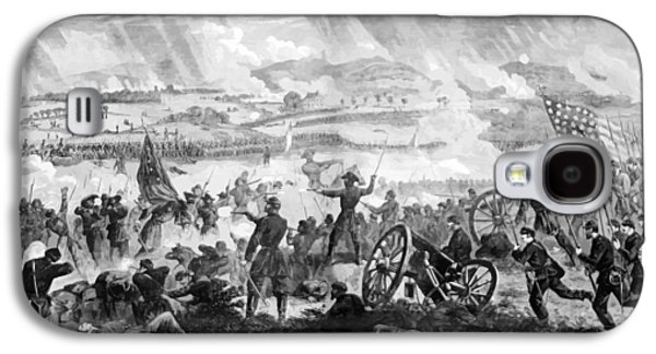 North Digital Galaxy S4 Cases - Gettysburg Battle Scene Galaxy S4 Case by War Is Hell Store