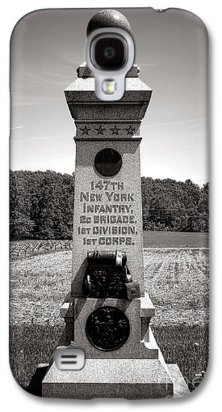 Brigade Galaxy S4 Cases - Gettysburg National Park 147th New York Infantry Monument Galaxy S4 Case by Olivier Le Queinec