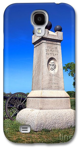 Brigade Galaxy S4 Cases - Gettysburg National Park 2nd Maine Battery Memorial Galaxy S4 Case by Olivier Le Queinec