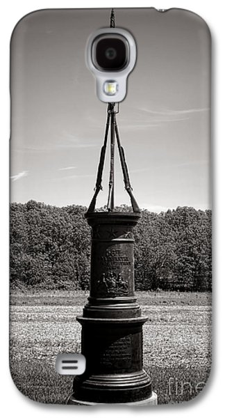 Brigade Galaxy S4 Cases - Gettysburg National Park 56th Pennsylvania Infantry Monument Galaxy S4 Case by Olivier Le Queinec