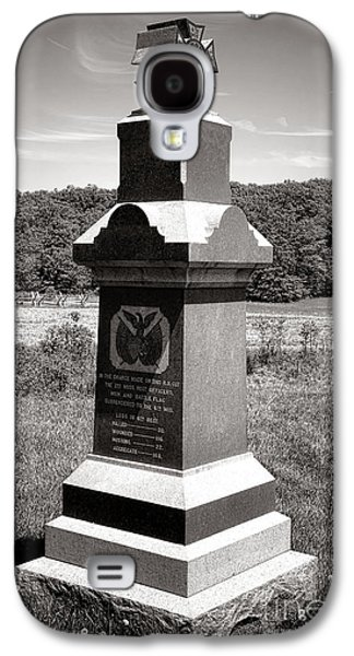 Brigade Galaxy S4 Cases - Gettysburg National Park 6th Wisconsin Iron Brigade Monument Galaxy S4 Case by Olivier Le Queinec