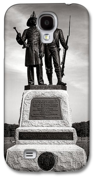 Brigade Galaxy S4 Cases - Gettysburg National Park 73rd NY Infantry 2nd Fire Zouaves Monument Galaxy S4 Case by Olivier Le Queinec