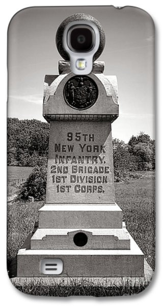 Brigade Galaxy S4 Cases - Gettysburg National Park 95th New York Infantry Monument Galaxy S4 Case by Olivier Le Queinec