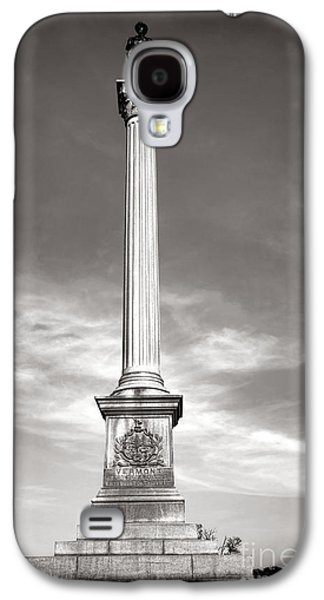 Brigade Galaxy S4 Cases - Gettysburg National Park Vermont Stannard Brigade Monument Galaxy S4 Case by Olivier Le Queinec
