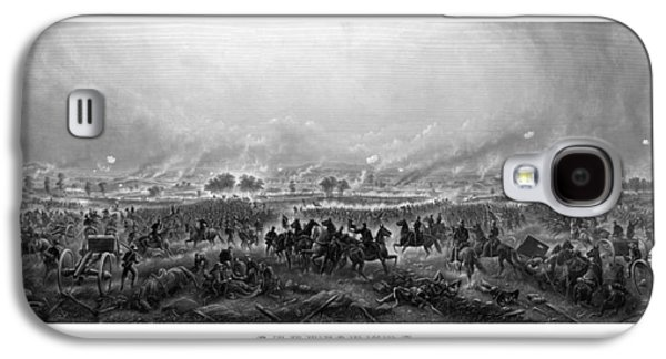 American History Galaxy S4 Cases - Gettysburg Galaxy S4 Case by War Is Hell Store