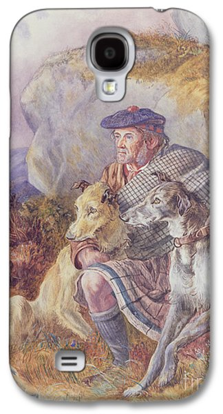 Ghillie And Deerhounds Galaxy S4 Case by Richard Ansdell