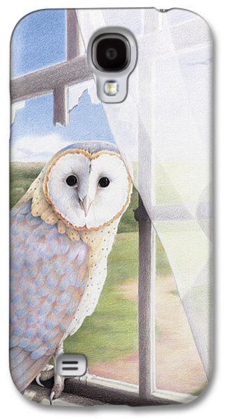 Ghost In The Attic Galaxy S4 Case by Amy S Turner