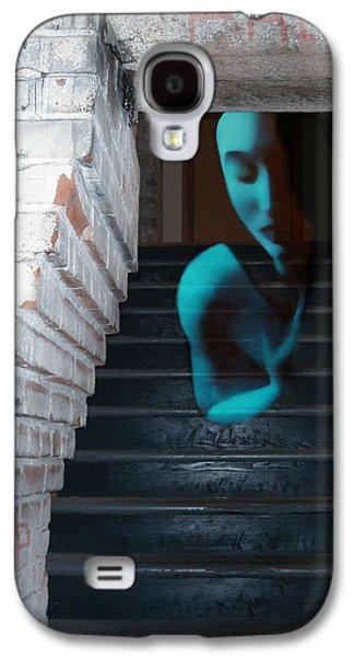 Survivor Art Galaxy S4 Cases - Ghost of Pain - Self Portrait Galaxy S4 Case by Jaeda DeWalt