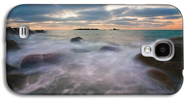 Ghostly Galaxy S4 Cases - Ghost Tides Galaxy S4 Case by Mike  Dawson