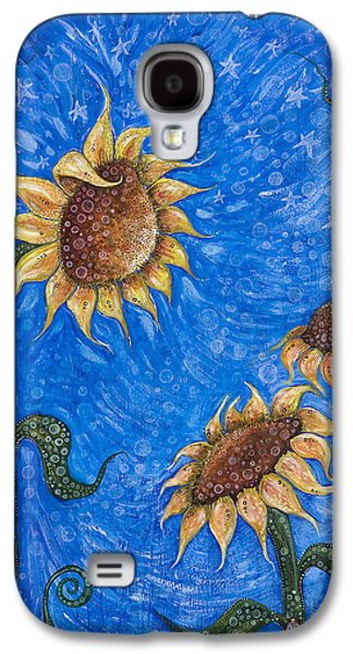 Nature Center Paintings Galaxy S4 Cases - Gift of Life Galaxy S4 Case by Tanielle Childers
