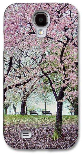 Cherry Blossoms Photographs Galaxy S4 Cases - Gifts Galaxy S4 Case by Mitch Cat