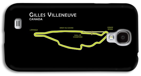 Sports Photographs Galaxy S4 Cases - Gilles Villeneuve Galaxy S4 Case by Mark Rogan