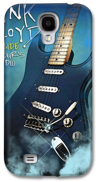 Beatles Galaxy S4 Cases - Gilmour Inside Galaxy S4 Case by Don Kuing